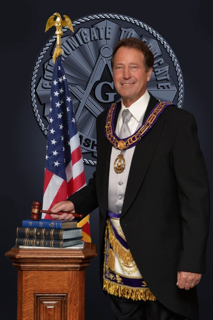Most Worshipful Grand Master Warren R. Schoeben
